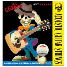 Alice A206-L - комплект струн для акустической гитары