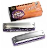 Seydel Sohne 10301BB_S Session Steel Summer Edition Bb - губная гармошка